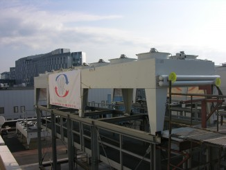 Transportation and installation of dry coolers